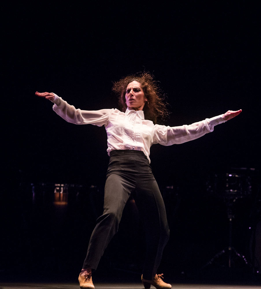 Tamara López in Painter and Flamenco: J.R.T..© Foteini Christofilopoulou. (Click image for larger version)
