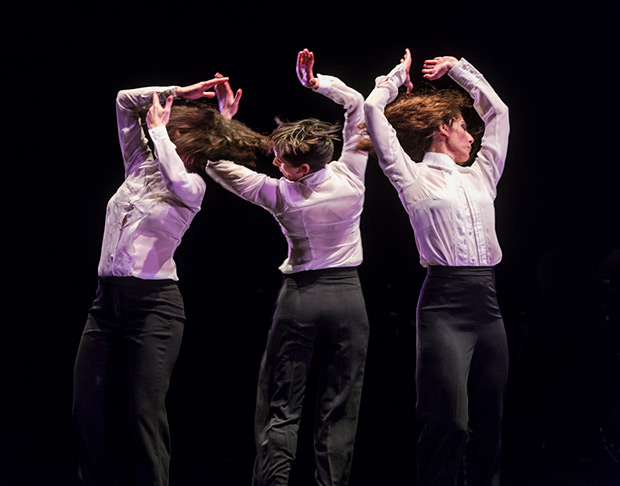 Úrsula López, Leonor Leal and Tamara López in <I>Painter and Flamenco: J.R.T.</I>.<br />© Foteini Christofilopoulou. (Click image for larger version)