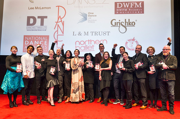 2017 National Dance Awards – The winners.© Foteini Christofilopoulou. (Click image for larger version)