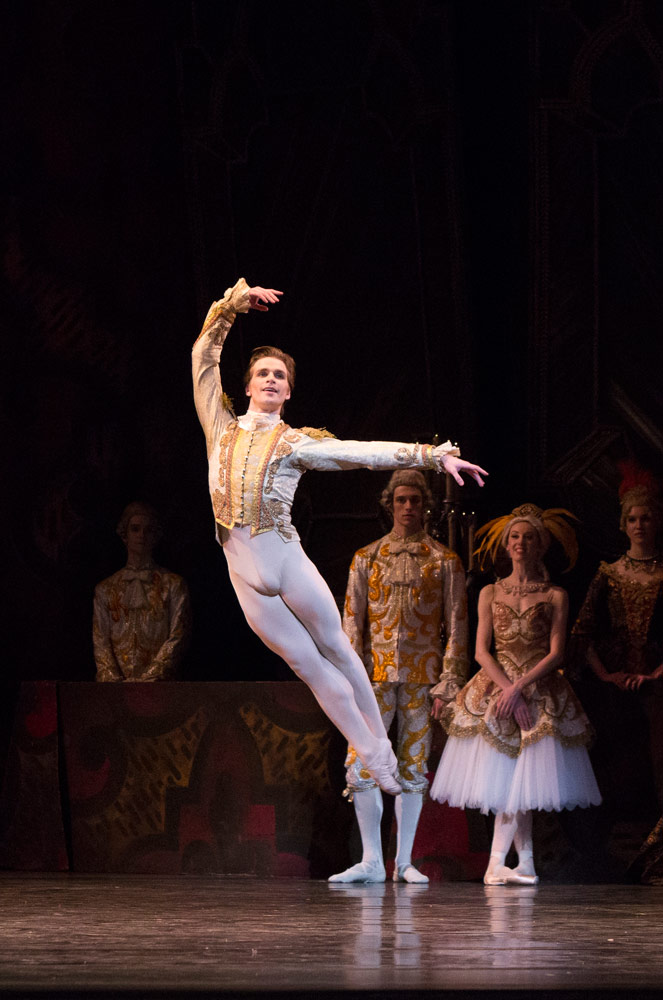 Harrison James in The Sleeping Beauty.© Aleksandar Antonijevic. (Click image for larger version)