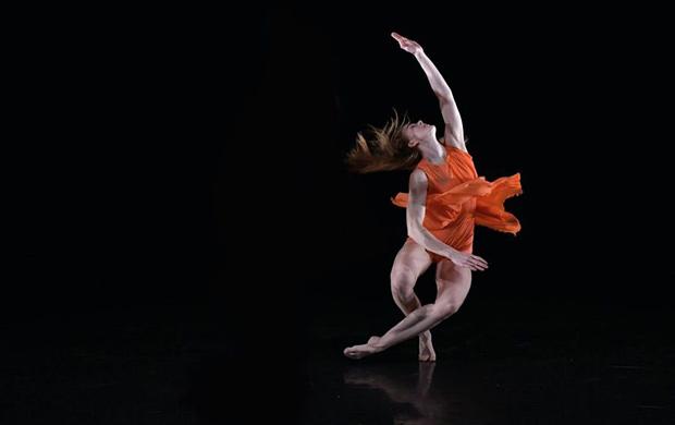 Emilie Karlsen in <I>Rush</I>.<br />© Brian Slater. (Click image for larger version)