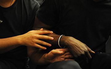 Alain Platel & Fabrizio Cassol's Requiem pour L.© Chris Van der Burght. (Click image for larger version)