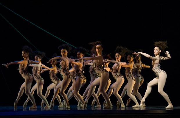 San Francisco Ballet in Robbins' <I>The Cage</I>.<br />© Erik Tomasson. (Click image for larger version)