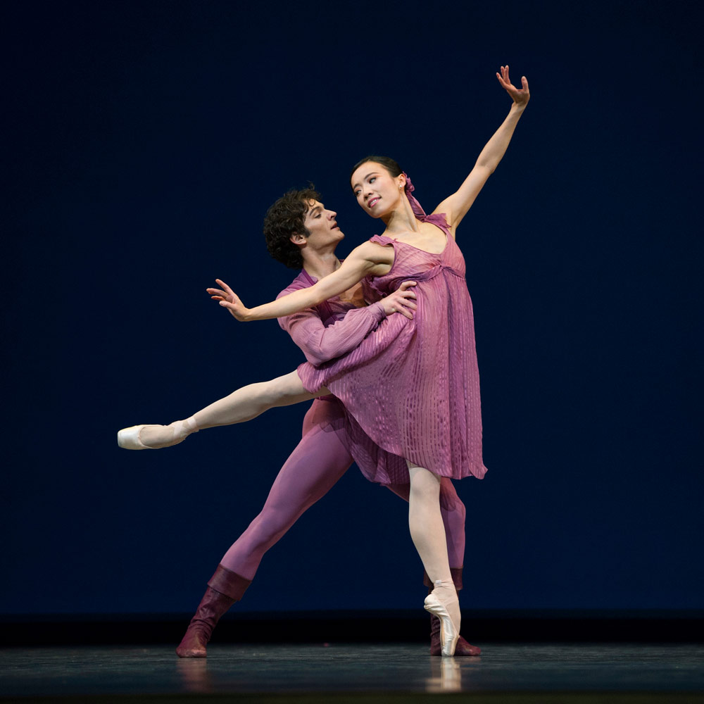 Frances Chung and Angelo Greco in Robbins' Other Dances.© Erik Tomasson. (Click image for larger version)