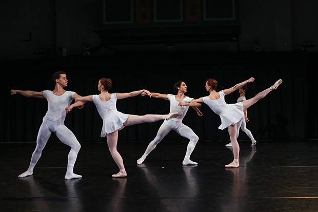 "New York Theatre Ballet in <I>Septet</I>.<br />© <a href=""http://www.julielemberger.com/"">Julie Lemberger</a>. (Click image for larger version)"