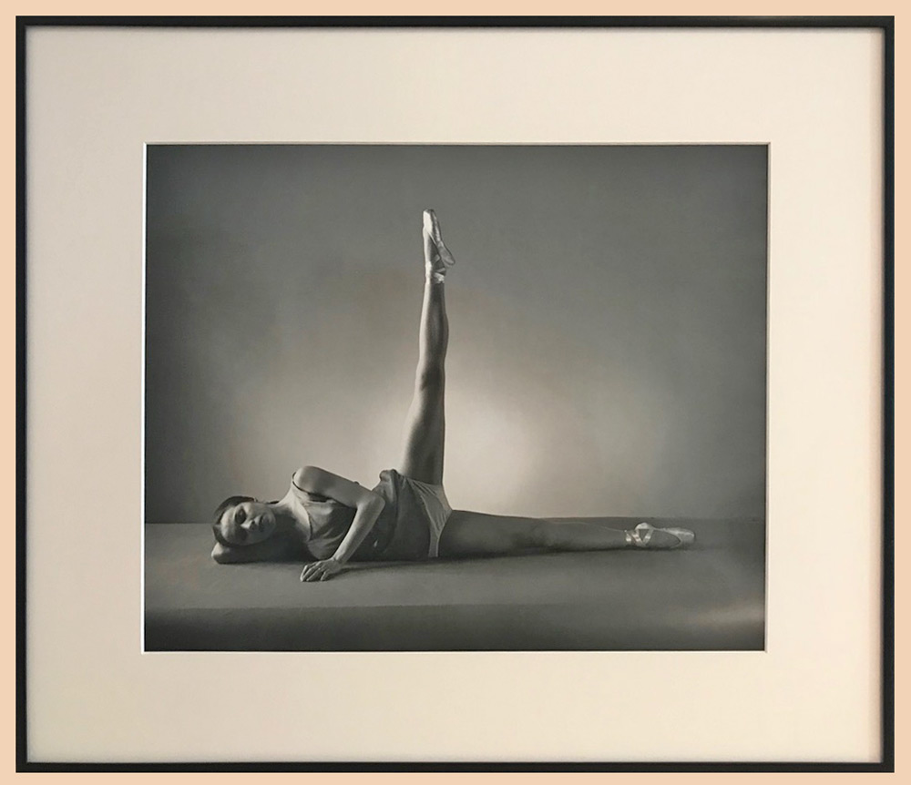 Maria Tallchief by George Platt Lynes.<br />photo © Marina Harss. (Click image for larger version)