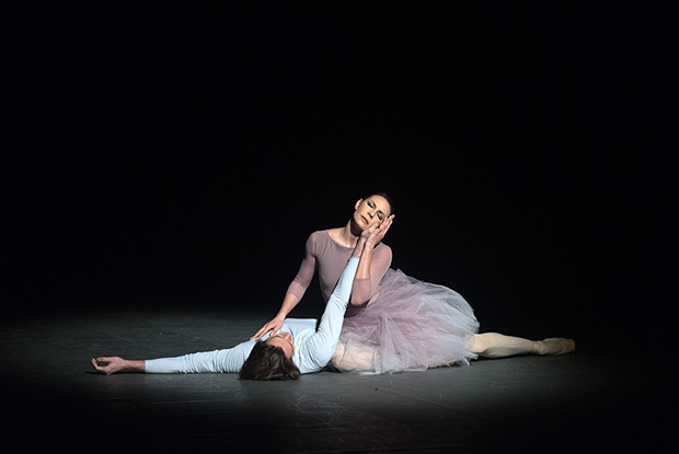 Maria Alexandrova and Vladislav Lantratov in <I>Nureyev</I>.<br />© Marc Haegeman. (Click image for larger version)