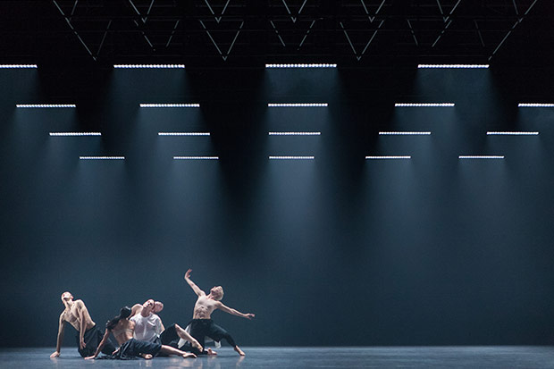 Company Wayne McGregor in <I>Autobiography</I>.<br />© Richard Davies. (Click image for larger version)