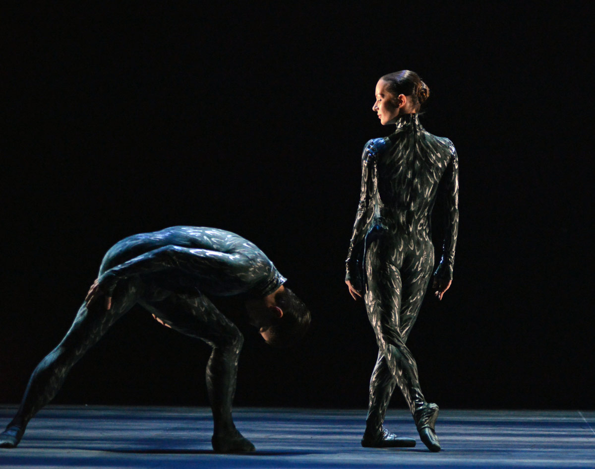 Katja Khaniukova in Barton's <I>Fantastic Beings</I>.<br />© Dave Morgan. (Click image for larger version)