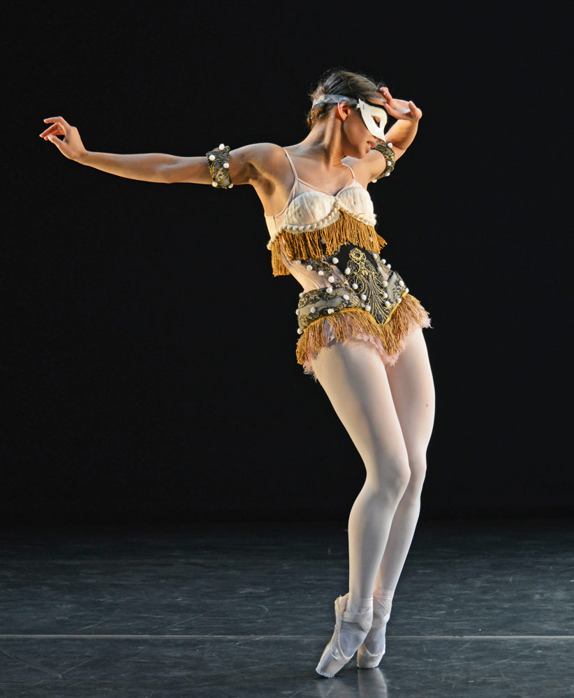 Francesca Hayward in Laiderette.© Dave Morgan. (Click image for larger version)