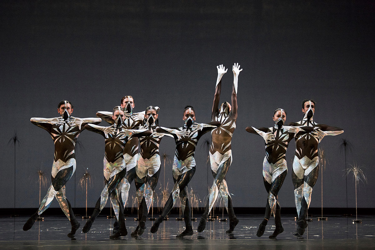 San Francisco Ballet in Pita's Björk Ballet.© Erik Tomasson. (Click image for larger version)