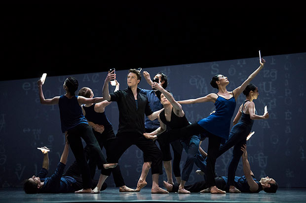 San Francisco Ballet in Wheeldon's <I>Bound To</I>.<br />© Erik Tomasson. (Click image for larger version)