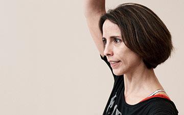 Annabelle Lopez Ochoa rehearsing Guernica.© Erik Tomasson. (Click image for larger version)