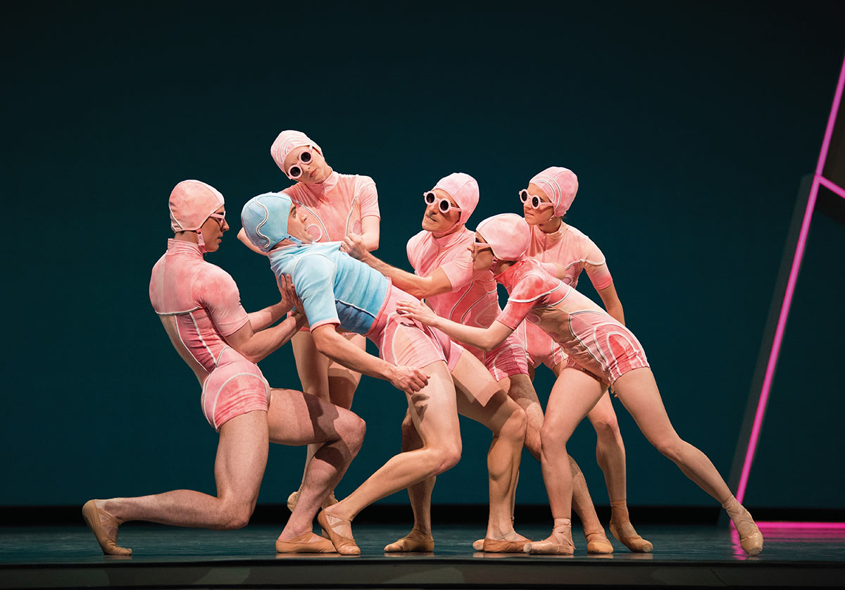 San Francisco Ballet in Thatcher's Otherness.© Erik Tomasson. (Click image for larger version)