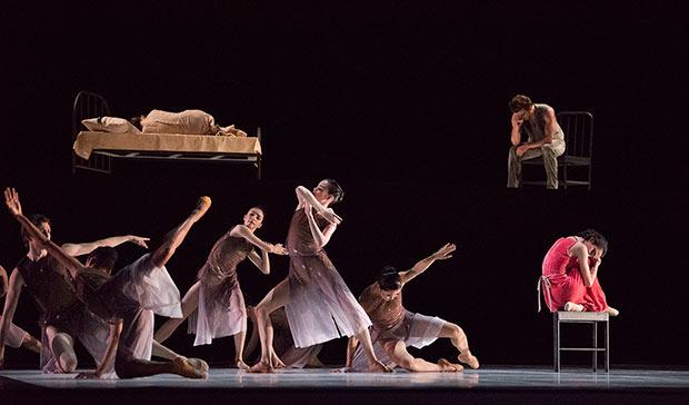 San Francisco Ballet in Marston's <I>Snowblind</I>.<br />© Erik Tomasson. (Click image for larger version)