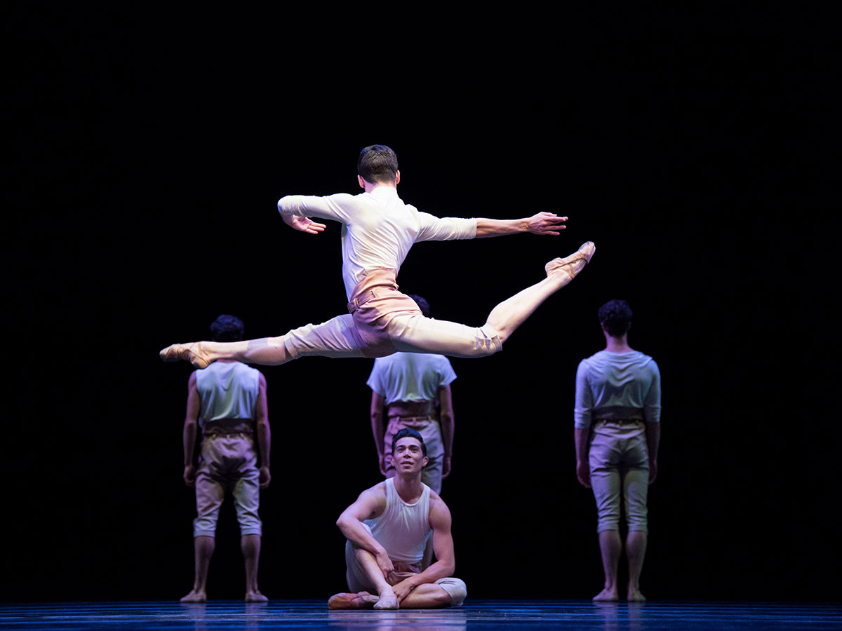 San Francisco Ballet in Trey McIntyre's Your Flesh Shall Be a Great Poem.© Erik Tomasson. (Click image for larger version)