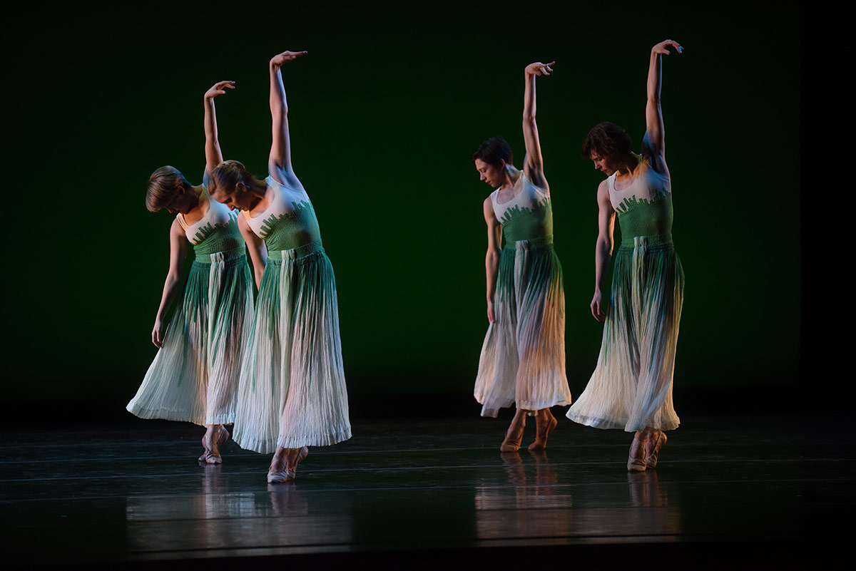 Mark Morris Dance Group in Pacific.© Hilary Schwab. (Click image for larger version)