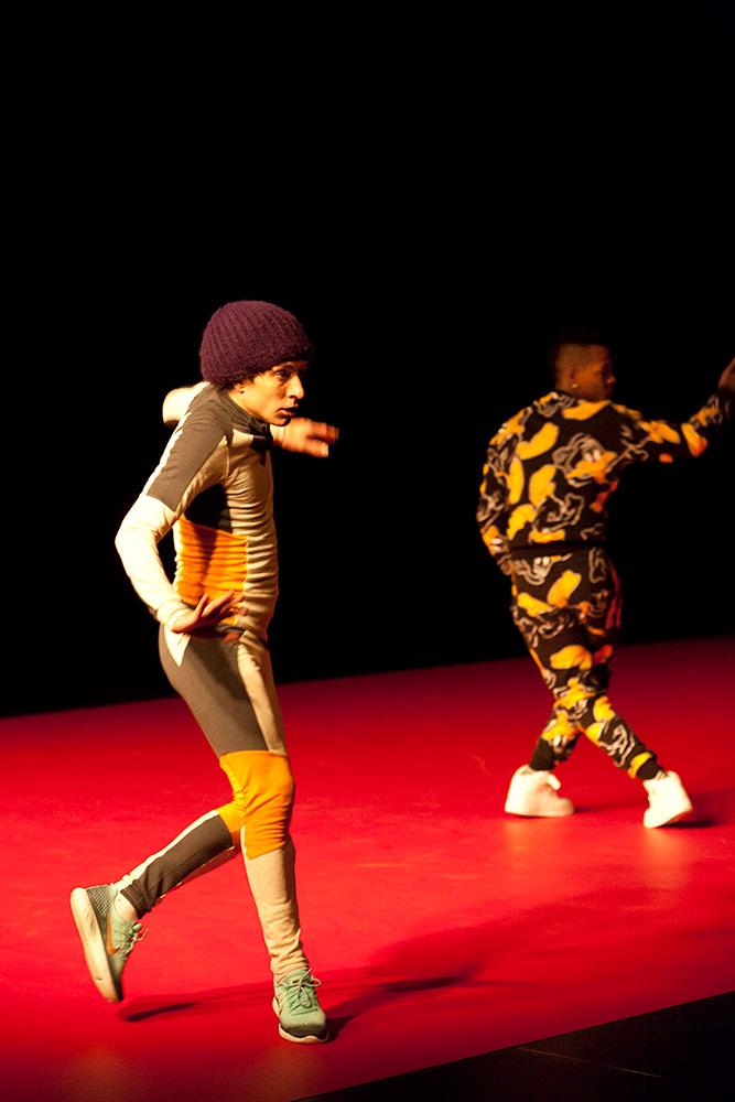 DFS by Cecilia Bengolea & Francois Chaignaud.© Hervé Véronèse. (Click image for larger version)