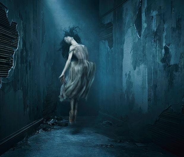Publicity image for English National Ballet / Akram Khan's <I>Giselle</I>.<br />© Jason Bell. (Click image for larger version)