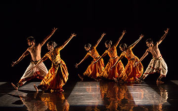 Promotional image for Malavika Sarukkai's Thari - The Loom.© Shalini Jain. (Click image for larger version)