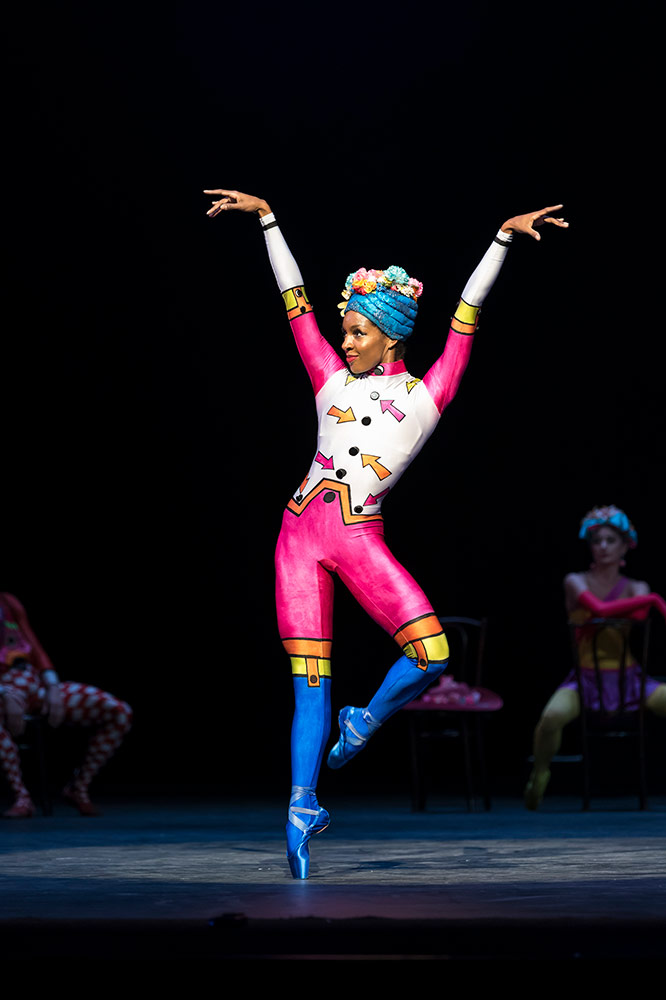 Precious Adams in <I>Elite Syncopations</I>.<br />© Bill Cooper. (Click image for larger version)