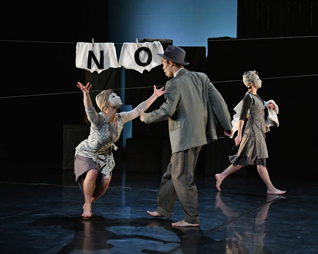 Phoenix Dance Theatre in <I>Windrush: Movement of the People</I>.<br />© Brian Slater. (Click image for larger version)