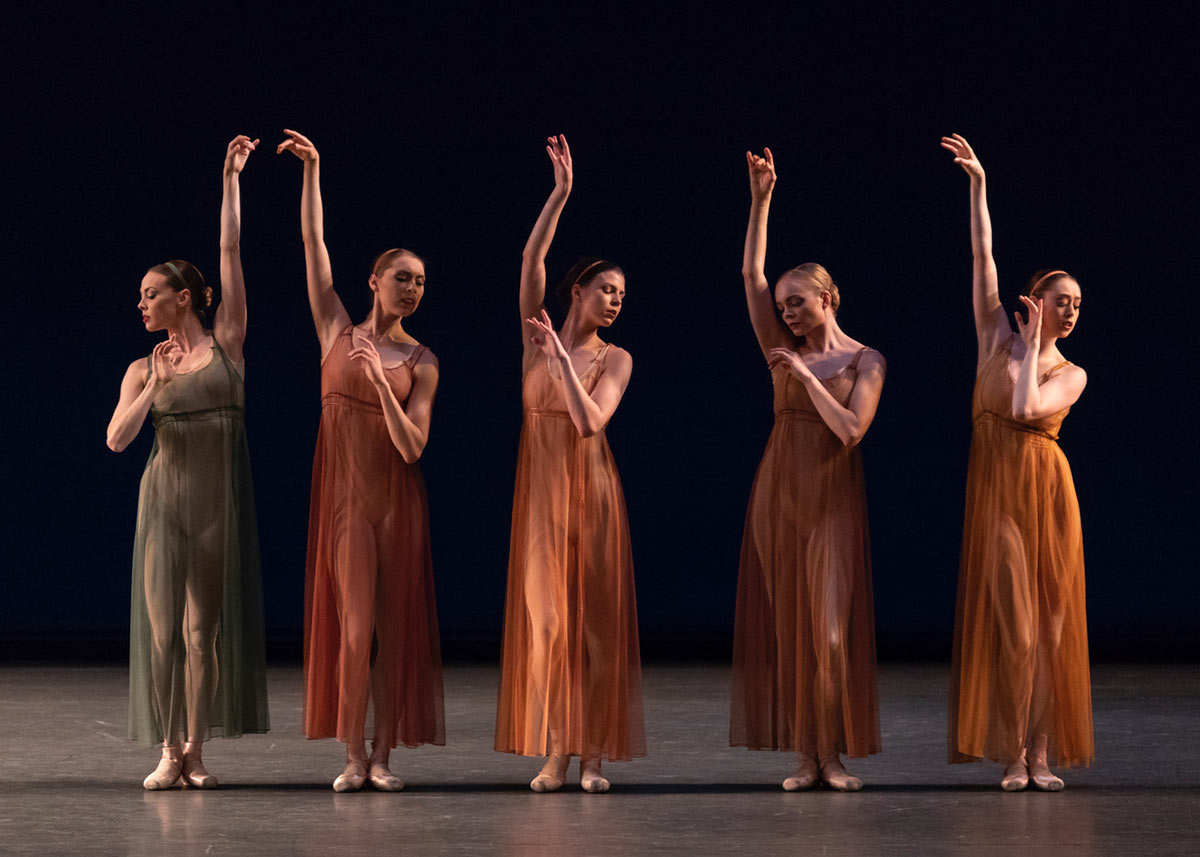 New York City Ballet in Antique Epigraphs.© Erin Baiano. (Click image for larger version)
