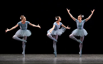 New York City Ballet in The Concert.© Paul Kolnik. (Click image for larger version)