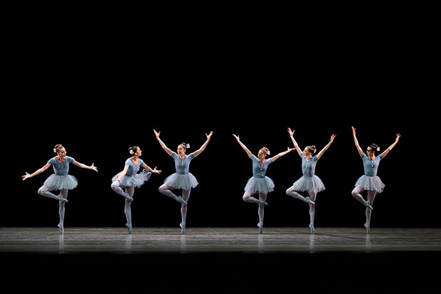 New York City Ballet in <I>The Concert</I>.<br />© Paul Kolnik. (Click image for larger version)