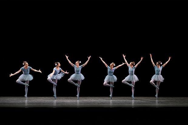 New York City Ballet in <I>The Concert</I>.<br />© Paul Kolnik. (Click image for larger version)