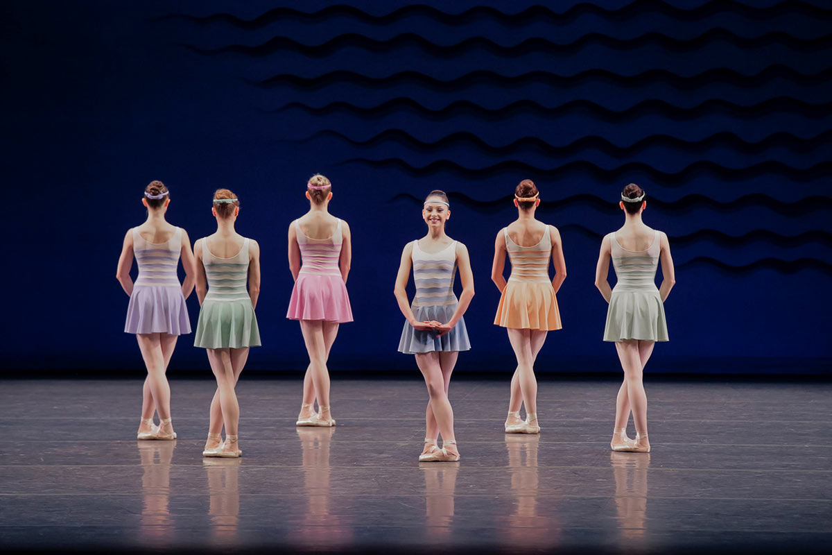 New York City Ballet in In G Major.© Paul Kolnik. (Click image for larger version)
