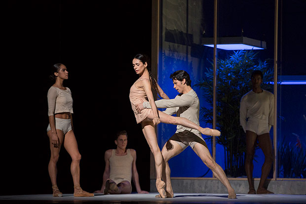 Misty Copeland, Alessandra Ferri and Herman Cornejo in Afterite.© Marty Sohl. (Click image for larger version)