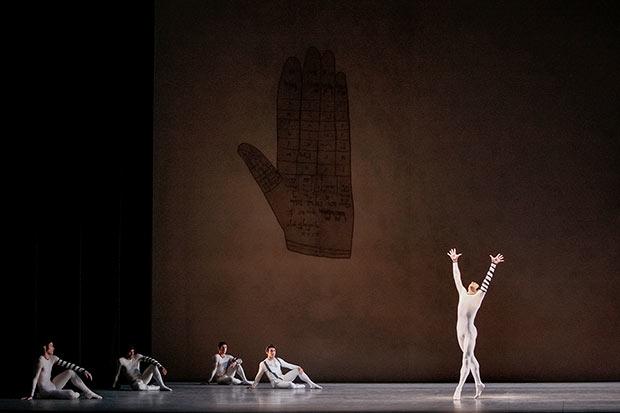 New York City Ballet in <I>Dybbuk</I>.<br />© Paul Kolnik. (Click image for larger version)