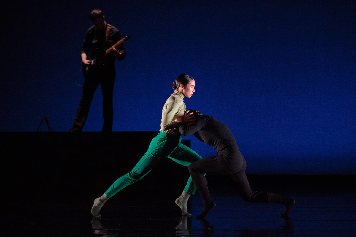 Katerina Eng and Dana Genshaft in Danielle Rowe's The Old Child.© Alexander Reneff-Olson. (Click image for larger version)