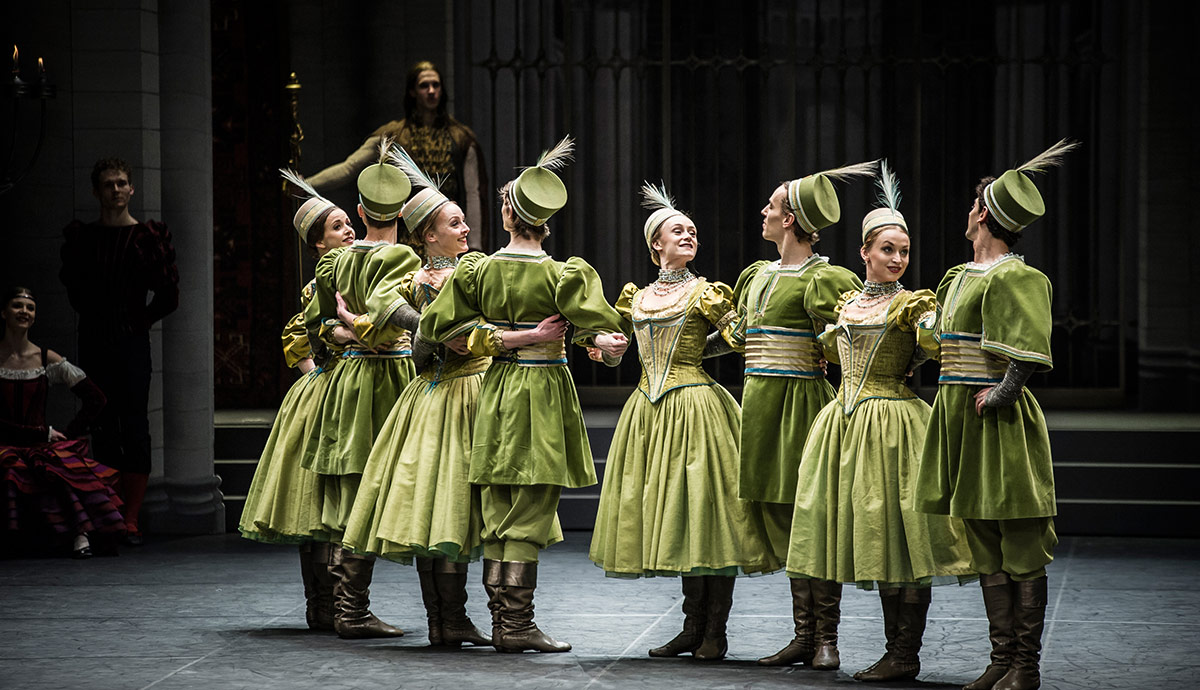 Zurich Ballet in the Mazurka from Swan Lake.© Carlos Quezada. (Click image for larger version)