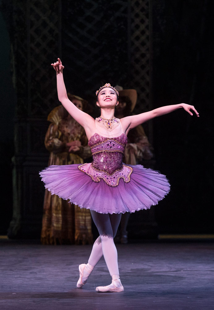 Shiori Kase in The Sleeping Beauty.© Foteini Christofilopoulou. (Click image for larger version)