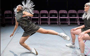 Yukiko Masui and Maddy Morgan in Smack That.© Foteini Christofilopoulou. (Click image for larger version)