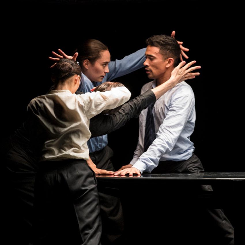 Nederlands Dans Theater in <I>The Statement</I>.<br />© Foteini Christofilopoulou. (Click image for larger version)
