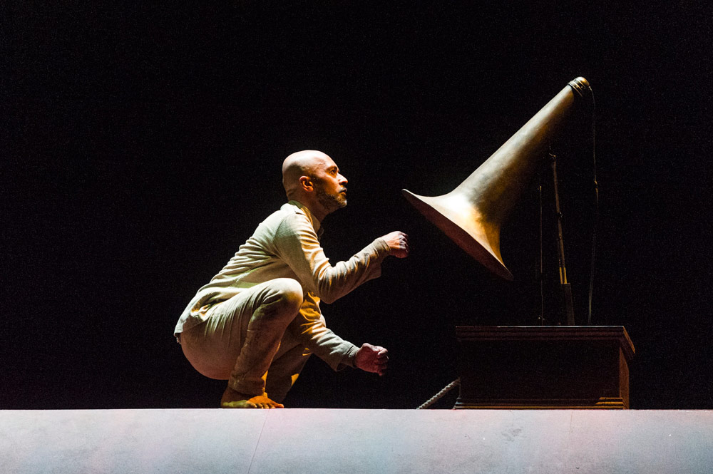 Akram Khan in Xenos.© Foteini Christofilopoulou. (Click image for larger version)