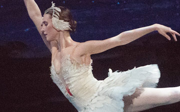 Devon Teuscher in Swan Lake.© Gene Schiavone. (Click image for larger version)