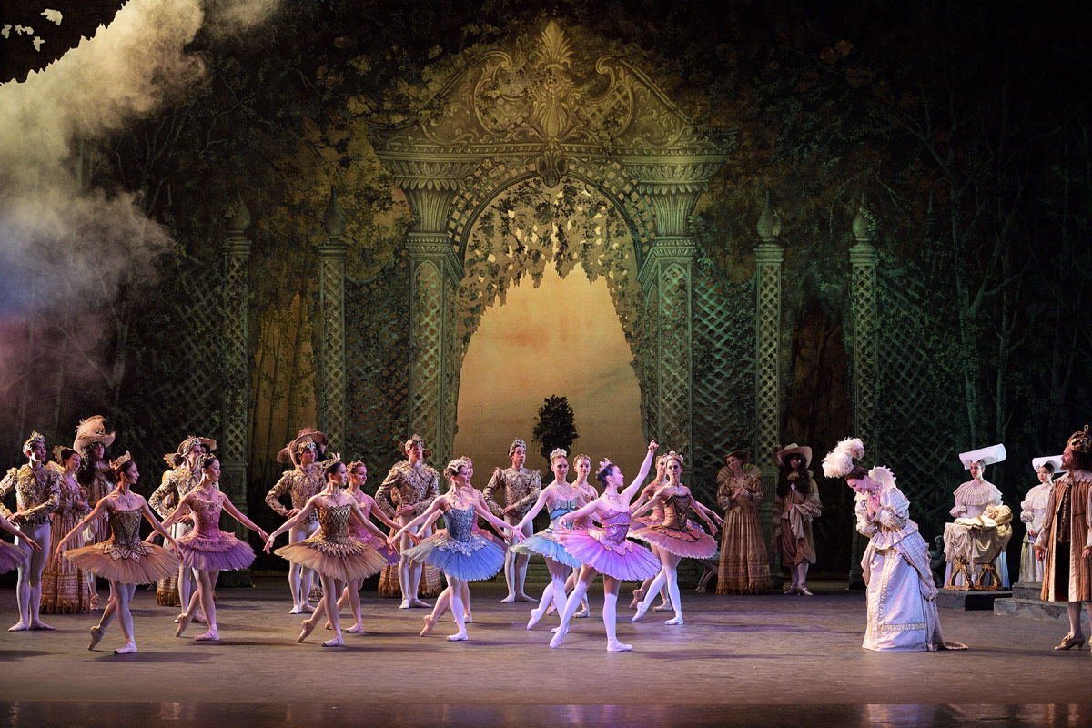 English National Ballet in The Sleeping Beauty.© Laurent Liotardo. (Click image for larger version)
