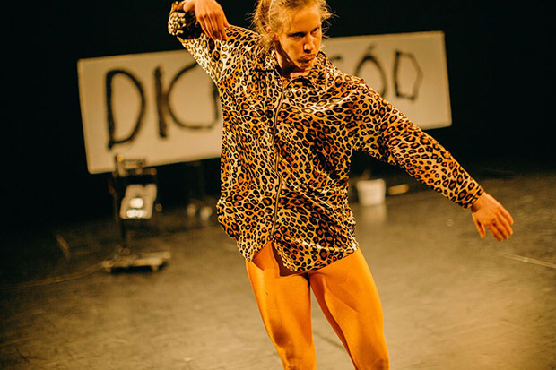 Hilde Ingeborg Sandvold: <I>Dans, for Satan/ (dance, dammit!)</I>.<br />© Tale Hendnes. (Click image for larger version)