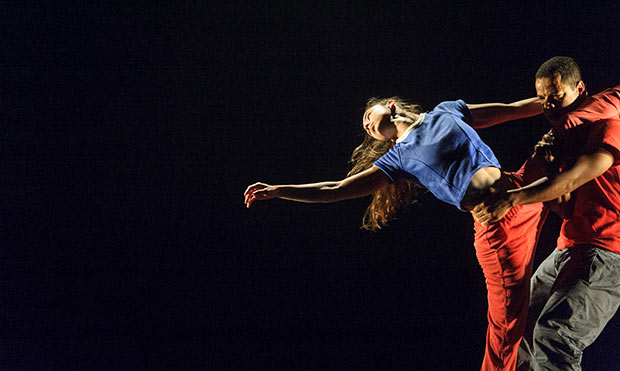 Jean Abreu and Rita Carpinteiro in <I>Solo for Two</I> (at the Southbank Centre).<br />© Foteini Christofilopoulou. (Click image for larger version)