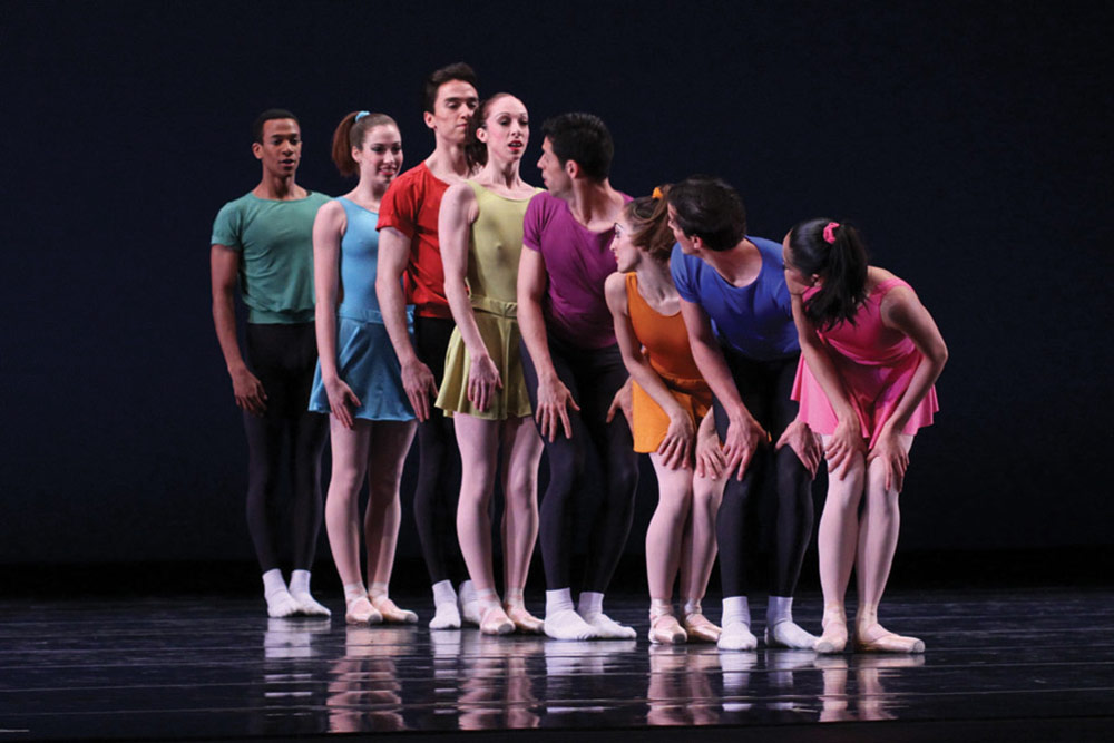 Joffrey Ballet in Interplay.© Herbert Migdoll. (Click image for larger version)