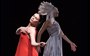 Natalia Osipova in ISADORA: A Tribute to Isadora Duncan in Two Acts.© Doug Gifford. (Click image for larger version)