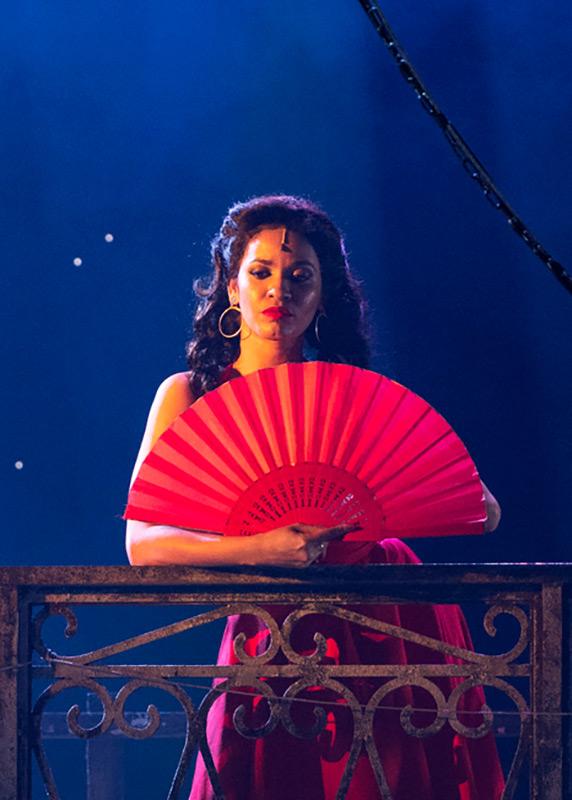 Luna Manzanares Nardo in Carmen La Cubana.© Foteini Christofilopoulou. (Click image for larger version)