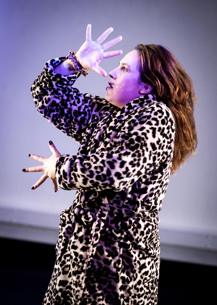 Sarah Blanc in My Feminist Boner.© Jonathon Vines. (Click image for larger version)