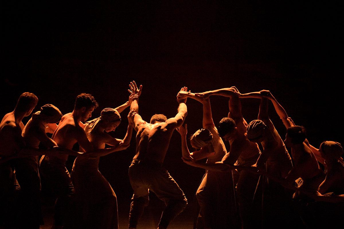 English National Ballet in Dust by Akram Khan.© Laurent Liotardo. (Click image for larger version)