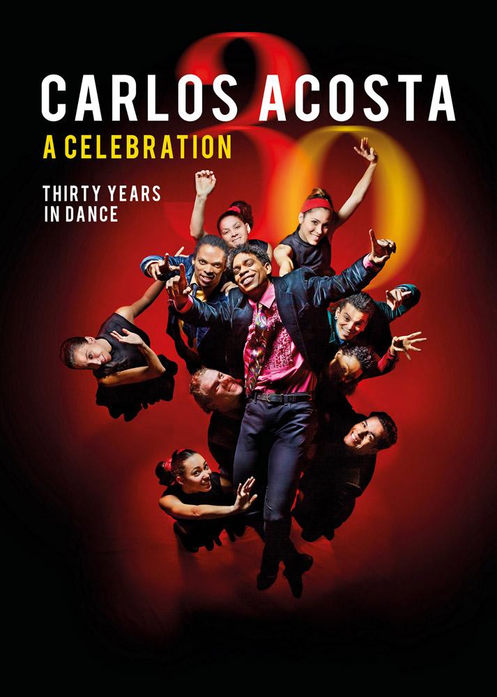 Flyer for Carlos Acosta - A Celebration, Royal Albert Hall, London, 2 - 7 October 2018.© Manuel Vasson. (Click image for larger version)