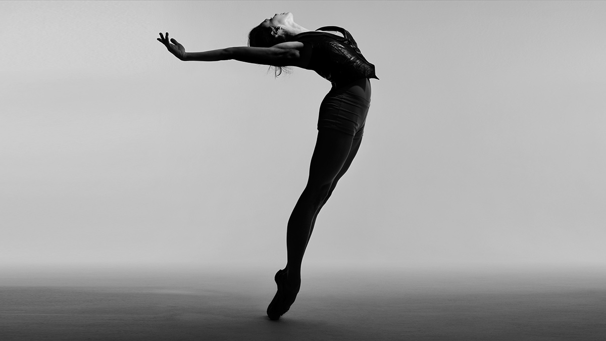 Natalia Osipova in Pure Dance promotional image.© Rick Guest, stylist Olivia Pomp. (Click image for larger version)